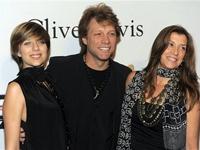 Jon Bon Jovi with Dorothea and Stephanie