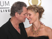 Lindsey Buckingham and Kristen Messner