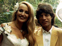 Mick Jagger & Jerry Hall Wedding Day