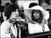 Mick Jagger and Bianca Wedding